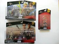 Disney Infinity Star Wars 3.0 Playsets & Power Disc Pack set (NEW!)