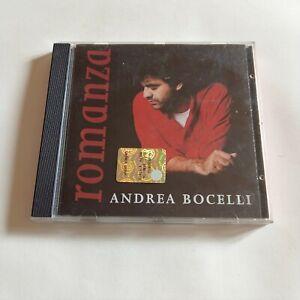 Andrea Bocelli  - Romanza - CD originale del 1997