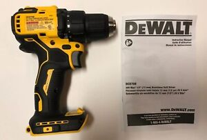 "NEW DEWALT DCD708 ATOMIC 20V 20 Volt Max Li-Ion 1/2"" Brushless Drill Driver"