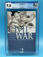 Civil War #2 Third Printing CGC 9.8 2006