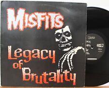 """Misfits LP """"Legacy Of Brutality"""" ~ Plan 9 / Caroline PL9-06 ~ Orig 1985 ~ VG++"""