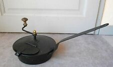 Antique french toleware COFFEE ROASTER