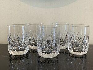 Orrefors Elisabeth Pattern Shot Glasses Set of 5