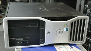 DELL Precision 490 2xIntel E5345 2.33Ghz Quad Core XEON 32GB RAM 250GB HD NVS285