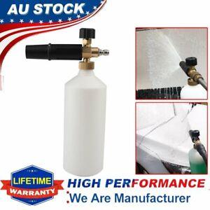 "Car Wash Pressure Washer Jet Wash 1/4"" Quick Release Adjustable Snow Foam Lance"