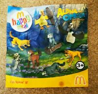 McDonalds Happy Meal Toy 2010 Alpha & Omega Wolf Wolves Plastic Toys - Various