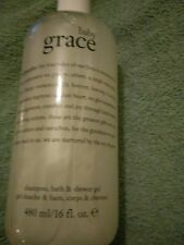 "Philosophy, ""Baby Grace"", Shampoo, Bath + Shower Gel..480ml..(RRP £19.50).. NEW"