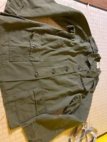 VTG U.S. Army Vietnam Era Shirt military uniform womens Utility Cotton/Poplin 14