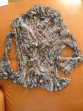 Taifun Collection ��� Schöne weibliche Bluse mit luftigen Rüschen ⌘ Gr. 42 ⌘