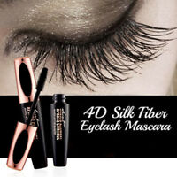 Waterproof 4D Silk Fiber Eyelash Mascara Extension Makeup Black Kit Eye Lashes