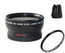 HD Wide Angle Lens for Canon HF G60 G50 GX10 XA55 XA45 XA40 XA35 XA30 XA20 XA15