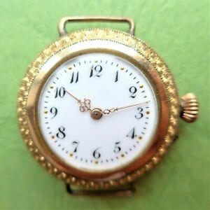 "Ladies Pocket Watch, Armbanduhrenumbau, "" Steinmeyers Patents "" Good"