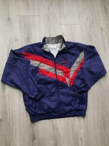 90s 80s Vintage Mens ADIDAS ORIGINALS Tracksuit Track Top Jacket Mens M