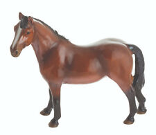 John Beswick Riding Pony - Ceramic Horse Figurine - BAY Approx 12.5cm High
