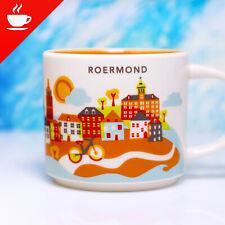 + STARBUCKS City Mug + ROERMOND + NEU SKU YOU ARE HERE YAH Tasse Netherlands