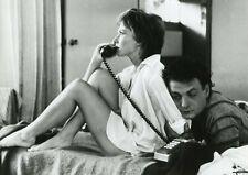 "MARLENE JOBERT PHILIPPE LEOTARD ""VA VOIR MAMAN..."" PHOTO DE PRESSE CINEMA CP"