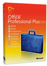 MIcrosoft Office Professional Plus 2010 License Key - W/scrap, 100% Genuine