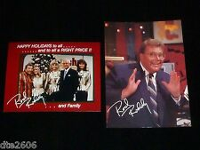 Set of Rod Roddy Pictures - Promotional and Holiday- Price is Right, Bob& Models