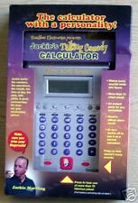 Jackie's talking comedy calculater toy electronic
