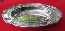"""1948 REMEMBRANCE Pattern 13"""" Fruit Center Bowl By 1847 Rogers Silver Plated"""