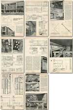 1958 New French Shop For Dunns Of Bromley Design, Plans