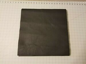 """Upholstery Leather - Black 16"""" x 16"""" Squares"""