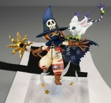 Digimon Adventure G.E.M. Serie PVC Statue Wizardmon & Gatomon 18 cm