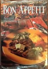 Bon Appetit magazine SEALED October 1993 issue recipes Halloween Cooperstown NY