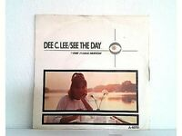 """DEE C.LEE - SEE THE DAY - SINGLE 7"""" - UK- 1985 - (MB/VG - MB/VG)"""