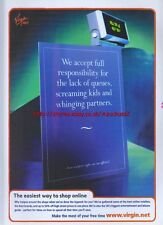 Virgin.Net 1999 Magazine Advert #3538