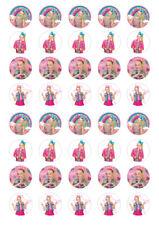 40 x 3cm JoJo Siwa Edible Image Cupcake Toppers