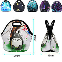 Insulated Lunch Bag Girls Boys Lunchbox School Travel Cute Kids Thermal Cooler