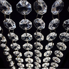 Whole Sell Acrylic Crystal Beads Garland Chandelier Hang Wedding Party Supplies