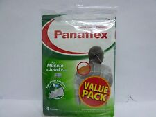 M# Panaflex Pain Relief Patch  value pack 4 patches BACk ,NECK,Muscle PAIN,etc