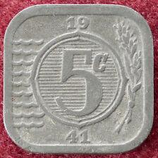 Países Bajos 5 centavos 1941 (D2004)