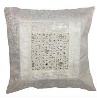 Latitude Vive Chevron Zig Zag Filled Luxury Grey Beige Scatter Cushion 50 x 50cm