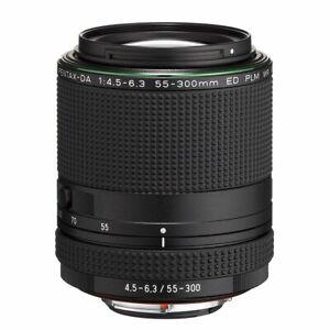 PENTAX Pentax HD DA 55-300mm F/4.5-6.3 PLM WR RE ED Lens