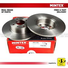 2X MINTEX REAR DISC BRAKES MDC389 FOR ALFA ROMEO CHRYSLER FIAT LANCIA GENUINE