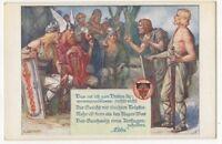G Lahoda Edda Vintage Art Postcard Austria US095