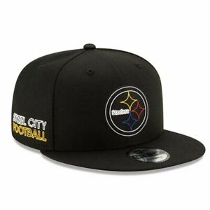 Pittsburgh Steelers New Era 9Fifty Youth Official Draft Adjustable Cap Hat $32