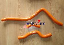 For Yamaha Raptor 660 2001 2002 2003 2004 2005 silicone radiator hose Orange