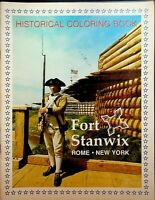 Fort Stanwix Rome NY Historical Coloring Book 1976 Bicentennial