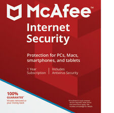 McAfee Internet Security 2018 Anti Virus,Antivirus,Email Delivery! Unlimited Pcs