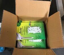 "NEW ZERO FRICTION HYBRID TEE BULK BOX 24 RETAIL PACKS 1 3/4"" WHITE TEES 25/PACK"