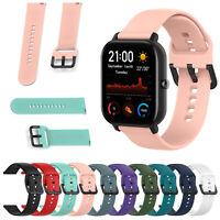 Sport Silicone Band for Xiaomi Huami Amazfit GTS Smart Watch Bracelet Soft Strap