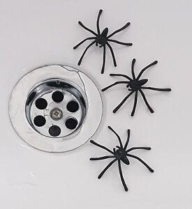 3 Fake Joke Spiders - Great Joke Prank Scary Trick April Fool - HALLOWEEN