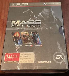 Mass Effect Trilogy Box Set Ps3 RARE