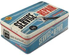 Service & Repair garaje lata 2,5 litros de 23 x 16 x 7cm azul nuevo 30715