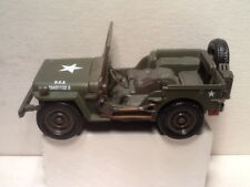 "Willy's Jeep. 1:32 scale. City Cruiser Jeep.4.5"" Long. Diecast. Nice."