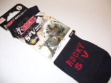 Rocky Boot Socks for Hot Weather Large USA NEW S2V Scent IQ Atomic Black